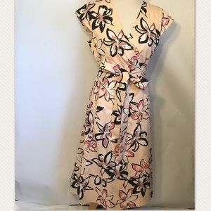 2d0007a19 kate spade Dresses - Kate Spade ♤️Tiger Lily Pink Wrap Dress NWT